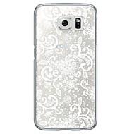 Para Samsung Galaxy S7 Edge Ultra-Fina / Translúcido Capinha Capa Traseira Capinha Flor Macia TPU SamsungS7 edge / S7 / S6 edge plus / S6
