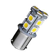 10x quente rv carro branco de 1156 BA15S 13-SMD 5050 levou de backup lâmpadas reversa 1141