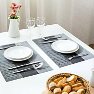 פלסטיק Rectangulaire Placemats