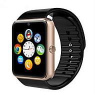 Herren Smart Uhr digital Touchscreen Fernbedienung Kalender Alarm Schrittzähler Fitness Tracker Stopuhr Caucho Band Cool Luxuriös Schwarz
