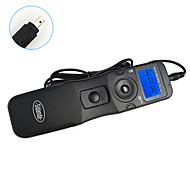 sidande® 7105 lcd tid forfalle intervallometeret fjernkontroll timer utløseren for Nikon D80 / D70s