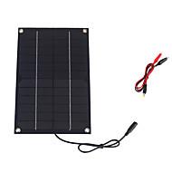 6 wattů 12V Monokrystalický solární panel s dc nabíjení kabelem pro 12V (swr6012d)
