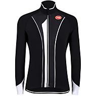 رياضات الدراجة/ركوب الدراجة قمم الرجال كم طويل متنفس / يمكن ارتداؤها / ضد الهواء / الدفء / قماش خفيف جداً تيريليني / LYCRA®كلاسيكي /