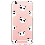 Para Capinha iPhone 6 / Capinha iPhone 6 Plus Ultra-Fina / Translúcido Capinha Capa Traseira Capinha Desenho Macia TPU AppleiPhone 6s