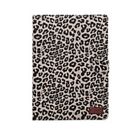 For Apple IPad Pro 9.7 Inch Tablet Fashion Leopard Grain Magnetic Smart Sleep PU Leather Case Card Slots Stand