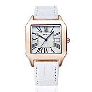 KEZZI® classical suqare japan movement couple watches 1052