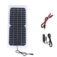 10w 18v bärbar monokristallina solpanel bil bil uppladdningsbara batterier batteriladdare (swr1018c)