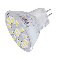 YouOKLight MR11 4W Warm White/White 3000K /6000K 350lm 15-SMD5733 LED Spotlight(AC/DC12V)