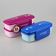 fabricante de porcelana de envase de alimento plástico almuerzo vacío yooyee