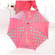 Piros / Kék / Sárga Hosszú nyelű esernyő Sunny és Rainy textil gyerekek