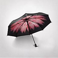 접는 우산 써니와 비오는 메탈 Plastic 레이디