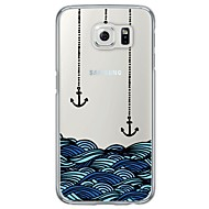 Anchor Pattern Soft Ultra-thin TPU Back Cover For Samsung GalaxyS7 edge/S7/S6 edge/S6 edge plus/S6/S5/S4