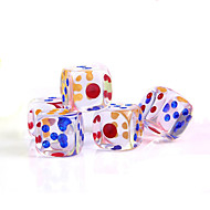 Acrylic Crystal Dice (5PCS)