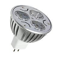 3 GU5.3 (MR16) LED-spotlampen MR16 3 SMD 250LM lm Warm wit / Koel wit Decoratief DC 12 V 1 stuks