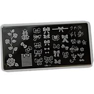 Nagel-Kunst-Platte Stamper Scraper 12*6cm