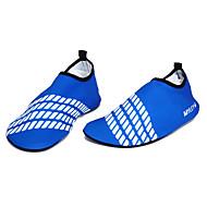 Korte gummistøvler Uden brug af værktøj Dykning og snorkling / Svømning Lycra Rød / Gul / Blåt