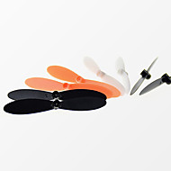 4PCS/Set  Hubsan  H107L H107C H107D  Black / White / Orange Plastic