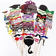 76 Pcs Party Photo Booth Props Holiday Decorations Party MasksCool For Wedding Party Graduation Birthdays