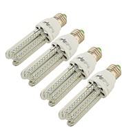 7 E26/E27 LED Mais-Birnen T 66 SMD 3014 650 lm Warmes Weiß Dekorativ AC 85-265 / AC 220-240 / AC 100-240 / AC 110-130 V 4 Stück