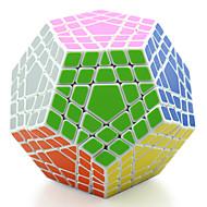 Shengshou® Ομαλή Cube Ταχύτητα Megaminx επαγγελματικό Επίπεδο Ανακουφίζει από το στρες Μαγικοί κύβοι μαύρο fade Ivory Πλαστικό