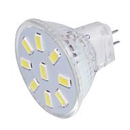 2 GU4(MR11) LED-kohdevalaisimet MR11 9 SMD 5733 150 lm Lämmin valkoinen / Kylmä valkoinen Koristeltu 9-30 V 1 kpl