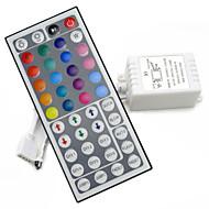 44keys førte ir rgb controler til rgb smd 3528 5050 strimmel førte lys controller ir fjernbetjening lysdæmper input DC12V