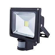 20w pir led árvíz fény mozgásérzékelő kerti lámpa (ac85-265v)