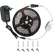 LED verlichting strip kit -3.528 -300 leds omvat 3a voeding (36 watt) en dimmer - onder leiding tape light connector