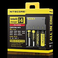 nitecore i4 intellicharge universell smart batterilader