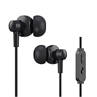 CSONG W3 plus In-Ear Earphone Stereo Bass 3.5mm Braided Wired Metal headphone with Microphone for iPhone Samsung etc