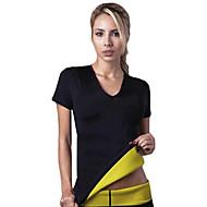 varmeforme kvinder neopren slankende uddannelsesforanstaltninger i t-shirts svedtendens shapewear