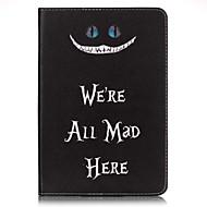 För Plånbok / Korthållare fodral Heltäckande fodral Ord / fras Hårt PU-läder Apple iPad Mini 4 / iPad Mini 3/2/1