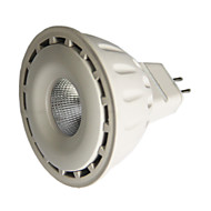 8W GU5.3(MR16) LED Spotlight MR16 1 COB 550 lm Warm White / Cool White Dimmable DC 12 V 1 pcs