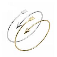Cuff Bangles Bracelets Gold Bracelet Silver Bracelet Love Bracelet Fashion Jewelry Bestfriend Christmas Gift Adjustable 1 pc