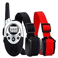 Perros collar de la corteza Collares de Entrenamiento para PerrosAntiladrido A Prueba de Agua Ajustable/Retractable Wireless Vibración