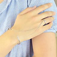Dame Ring Bracelets La modă Personalizat Aliaj Circle Shape Bijuterii Pentru Petrecere Zilnic 1 buc