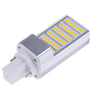 7W E14 / G23 / G24 / E26/E27 LED à Double Broches T 25 SMD 5050 500-700 lm Blanc Chaud / Blanc Froid DécorativeAC 85-265 / AC 100-240 /