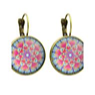 Modieus Bohemia Style Legering Cirkelvorm Zilver Bronzen Sieraden Voor Feest Dagelijks Causaal 1 paar
