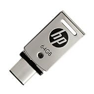 hp 64GB USB 3.1フラッシュドライブタイプ-c x5000金属