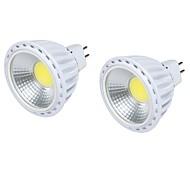 6 GU5.3(MR16) Faretti LED MR16 1 COB 450 lm Bianco caldo / Luce fredda Decorativo DC 12 V 2 pezzi