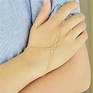Brățări Ring Bracelets Aliaj Circle Shape La modă / Personalitate Petrecere / Zilnic Bijuterii Cadou Auriu,1 buc