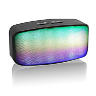 Portable Bluetooth  Wireless Speaker Subwoofer Loudspeakers With LED Flash lights / TF Card Slot / Handsfree Receive Cal