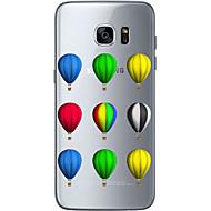 For Samsung Galaxy S7 Edge Mønster Etui Bagcover Etui Ballon Blødt TPU Samsung S7 edge / S7 / S6 edge plus / S6 edge / S6
