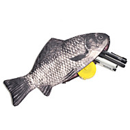 Fish Design Creative Pencil Case Bag School Office Supplies Cute Funny Birthday Gift
