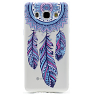 Dreamcatcher Pattern TPU High Purity Translucent Openwork Soft Phone Case for Samsung Galaxy J310 J510 J710 G530 G360