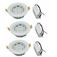 Alaspäin valaisevat LED-valaisimet Lämmin valkoinen / Kylmä valkoinen LED 3 kpl