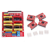 cnc skjold v3 a4988 stepper driver til ramper 1.4 RepRap 3D-printer