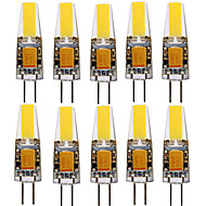 YWXLight® 10PCS G4 4W 1505 COB 300-400LM Warm White/Cool White LED Bi-pin Lights (AC/DC 12-24V)