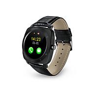 Bluetooth Smart Watch Pedometer Sleep Smartwatch Leather Android Monitor Remote Camera Music SIM TF Card Smartwatch