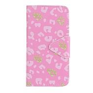 Til Samsung Galaxy J5 (2016) j5 eforcase pink leopard maleri pu telefon sag